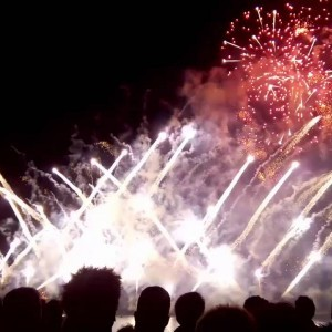 Feu d'artifice à Metz 2016 - YouTube
